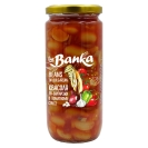 Консервована квасоля по-болгарськи в томатному соусі с/б The Banka 500 г – ІМ «Обжора»