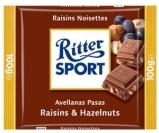 Шоколад Риттер спорт (Ritter Sport) орех-изюм 100 г – ИМ «Обжора»
