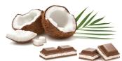 Белый шоколад Риттер спорт (Ritter Sport) Кокос 100 г – ИМ «Обжора»