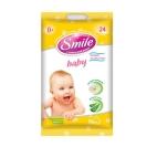Салфетки Смайл (Smile) Baby влажные Сбор трав 24шт (travel-формат) – ИМ «Обжора»