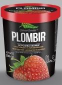 Мороженое Пломбир-Клубника Ласка OliverSmith 0,5 кг – ІМ «Обжора»