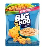 ZZZМікс арахісу і кукурудзи Big Bob 70г зі смаком сиру – ІМ «Обжора»