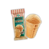 Крем-брюле в вафельном стаканчике Винтаж Ласка  60 г – ІМ «Обжора»