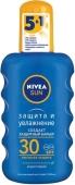 Спрей NIVEA сонц захист та звол SPF30 200 мл – ІМ «Обжора»