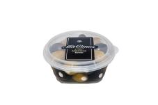 Маслины ассорти греческие с фетой в масле Mit Cimus 210 г – ИМ «Обжора»