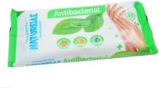 Салфетки влажные `NATURELLE` antibacterial, подорожник 48 шт – ІМ «Обжора»
