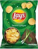 Чипсы Лейс (Lay's) зеленый лук, 71 г – ІМ «Обжора»