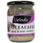 Риба Оселедець Veladis 470г філе Матьє – ІМ «Обжора»