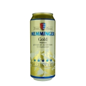 Пиво Memminger Gold 0,5 л ж/б – ИМ «Обжора»