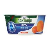 Крем сырковый Лактонія Курага нежирный 140 г – ИМ «Обжора»
