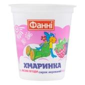 Сырок Фанни аэрированный Хмаринка 3,6% Лесная ягода 100 г – ИМ «Обжора»