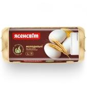Куряче яйце Ясенсвіт `Молодильне` С0 (10 шт) – ІМ «Обжора»