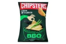 Чипсы волнистые сыр лук Chipster's 120 г – ІМ «Обжора»