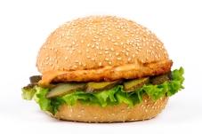 Гамбургер з котлетою курячою – ІМ «Обжора»