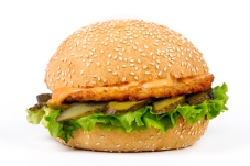 Гамбургер с котлетой куриной – ІМ «Обжора»