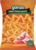 Снек Gonzo кукур трикутники 40г зі см бекону – ІМ «Обжора»