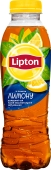 Чай Ліптон 0,5л холодн. чорний з лимоном – ІМ «Обжора»