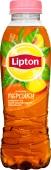 Чай Ліптон 0,5л холодн. чорний з персиком – ІМ «Обжора»