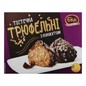 Пирожные трюфельные с кунжутом БКК Трюфельнi з кунжутом 240 г – ІМ «Обжора»