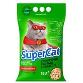 Наповнювач SUPER CAT з ароматом 3кг зелений – ІМ «Обжора»