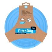 ZZZ Ігрова тарілка для апортировки PitchDog, 24 см, голуба – ІМ «Обжора»