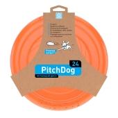 ZZZ Ігрова тарілка для апортировки PitchDog, 24 см, оранж – ІМ «Обжора»