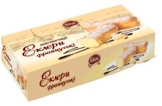 Пирожные заварные Эклер французский 12 шт – ІМ «Обжора»