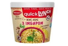 Каша Жменька Quick Lunch кус-кус з імбиром 70 г – ІМ «Обжора»