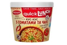 Каша Жменька Quick Lunch кус-кус з томатами та чілі 70 г – ІМ «Обжора»