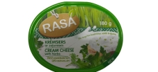 Сир з зеленню 66% RASA 180 г – ІМ «Обжора»