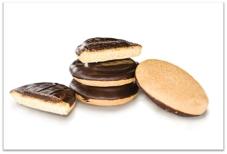 Печиво Деліція апельсин чорн, глазур ваг, – ІМ «Обжора»