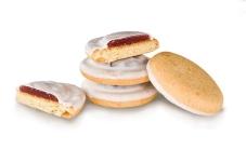 Печиво Деліція вишня біла в мол.глазурі ваг, – ІМ «Обжора»