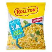Макарони Роллтон 85г бульйон зі смаком сира та зел по-домаш – ІМ «Обжора»