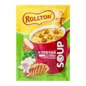 Крем-суп Роллтон 17г курячий з крутонами саше – ІМ «Обжора»
