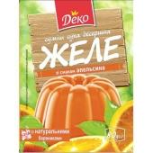 Желе Деко 80г зі смаком апельсина – ІМ «Обжора»