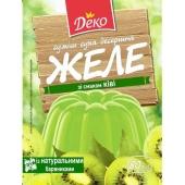 Желе Деко 80г зі смаком ківі – ІМ «Обжора»