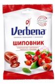 Льодяники Verbena 60 г Шипшина, гібіскус, кропива – ІМ «Обжора»