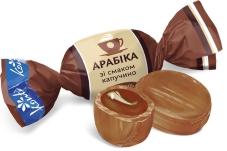 Конфеты Конти карамель арабика со вкусом капучино 200 г – ІМ «Обжора»