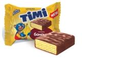 Конфеты вафельные со вкусом банана Timi Konti – ІМ «Обжора»