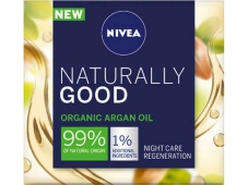 Крем Naturally Good organic argan oil ночной NIVEA 50 мл – ІМ «Обжора»