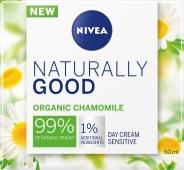 Крем NIVEA 50 мл Naturally Good organic chamomile дневной – ІМ «Обжора»