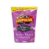 Маслини Coopoliva Plain black olives 100 г з/к д/п – ІМ «Обжора»