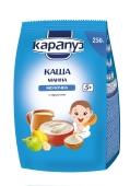 Каша манная молочная с фруктами с 5 месяцев Карапуз 250 г – ІМ «Обжора»