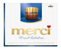 Конфеты Мерси (Merci) ассорти молочный шоколад, 250 г – ИМ «Обжора»