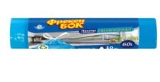 Пакети ФБ для сміття 60л з затяж. 10 шт – ІМ «Обжора»