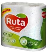 Туалетная бумага Рута 4 шт. белая Классик – ІМ «Обжора»