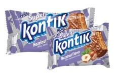 Печенье Konti Super Kontik hazelnut flavor milky sandwich 100 г – ІМ «Обжора»