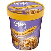 Мороженое Кешью и карамель Milka 305 г – ІМ «Обжора»
