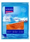 Риба Norven Арктичний голець 70 г х/к нарізка НОВИНКА – ІМ «Обжора»