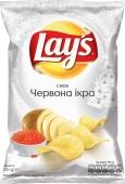 Чіпси картопляні червона ікра Lays 120 г – ІМ «Обжора»